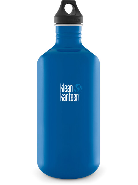 Klean Kanteen Classic 64oz Loop Cap (1892 ml) Blue Planet